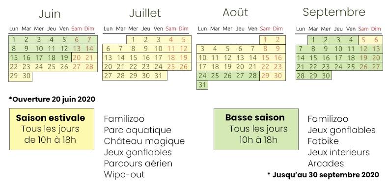 calendrier-ouverture-complexe-atlantide-basse saison